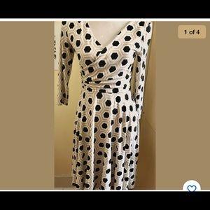 Brand New White House Black Market Pattern Dress
